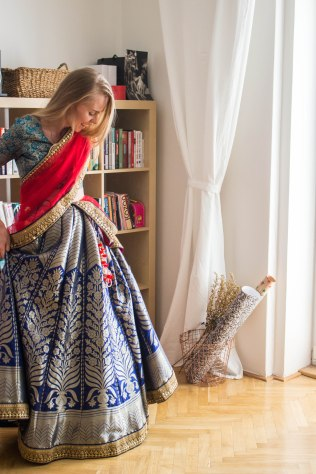 Lehenga choli has the princess factor for sure